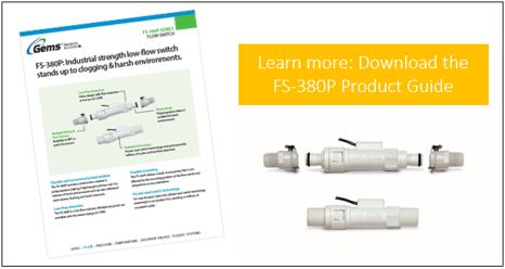 FS-380P Flow Switch